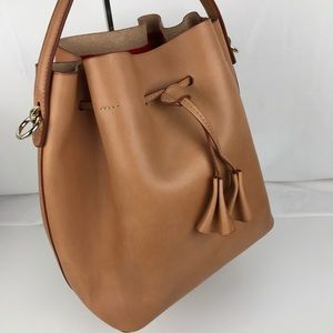 afad5993fd83 Celine Lefebure Bags - Celine Lefebure Karin Natural Leather Bucket Bag